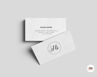 Cleaning business card template / business card template / creative business card / modern business card / personalized busieness card