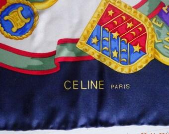 Cèline, París. Natural Silk Scarf