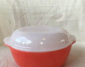 2 arcopal scales arcopal solid orange-red with 1 lid