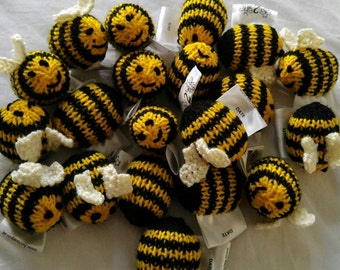 Baritric Handmade keyring Barry the Bumble Bee