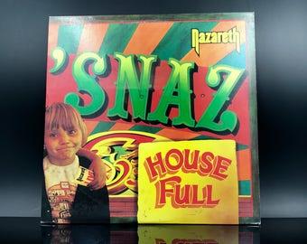 NAZARETH VINYL - 'Snaz - Hard Rock Heavy Metal Vinyl Record LP - Great Gift!