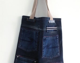 Bag jean and pockets #J01