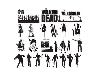 The Walking Dead SVG | TWD SVG,png,jpg,eps for Print/Design/ Silhouette Cameo/Cricut and Many More