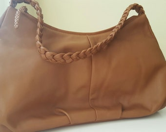 Summer Sale: DEREK ALEXANDER Leather Hobo Bag