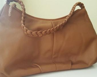 SALE* DEREK ALEXANDER Leather Hobo Bag
