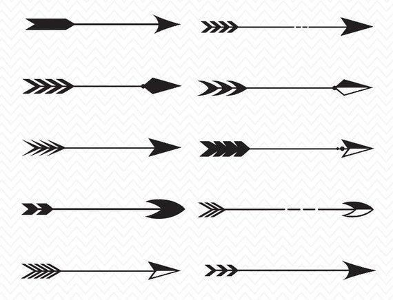 Tribal Arrow Svg Arrow Collection Download Cameo Or
