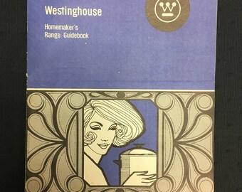 Retro 1960s/70s Westinghouse Homemaker's Range Guidebook