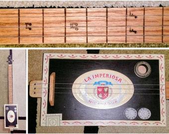 3 String Cigar Box Guitar