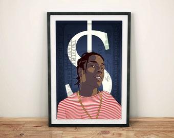 ASAP Rocky A1 Poster