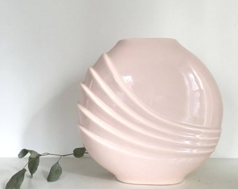 Pale Pink Linear Vase