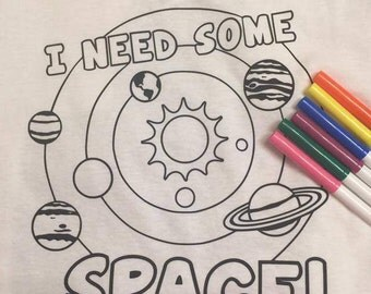 i need some space coloring page doodle shirt youth toddler - Space Coloring Pages Toddlers