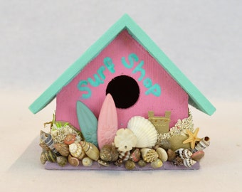 Surf Shop Birdhouse