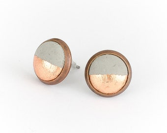 Copper studs concrete