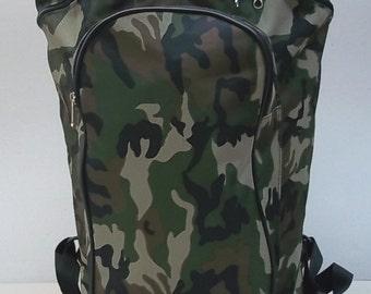Medium backpack for mushrooms with inner Pannier