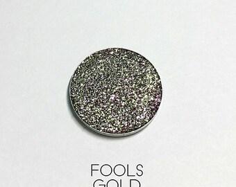 Pressed Glitter Eyeshadow - 'Fools Gold'