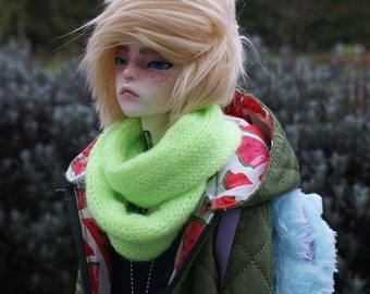 Knitted Round Scarf For 1/3 SD BJD