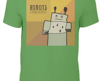 Kid's T Shirt Graphic (ROBOTS) - Stringtheorist Official Merchandise