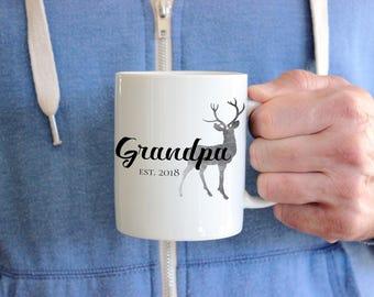 Grandpa Mug, New Grandpa Gift, Gift For Grandfather, Pregnancy Announcement Mug, Grandpa To Be Mug,  Pregnancy Reveal to New Grandfather
