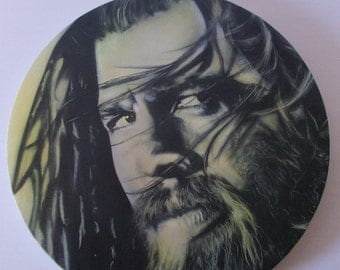 Portrait of airbrushing, sons of anarchy Opie