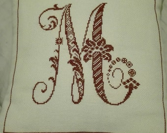 Welcome to decorative hand embroidered in cross stitch on aida