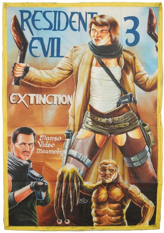 Film Poster Art Painting