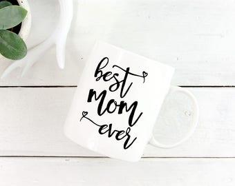 Best Mom Coffee Mug, New Mom Mug, Gift from Daughter, New Mom Coffee Mug, Gift Mom Bday, New Mom Coffee Cup, Best New Mom Gifts, Best Mom