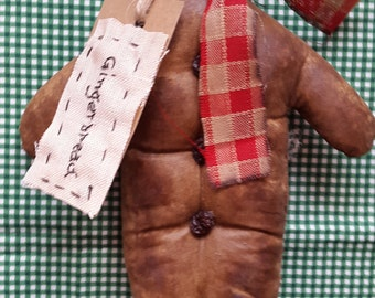 Primitive Gingerbread Man.Uk buyers only.