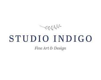 Premade Logo - Artist Logo - Blogger Logo - Studio Logo - Small Business Logo - Minimal Logo - Custom Logo - Typography Logo