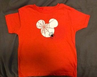 Mickey's Spider Shirt