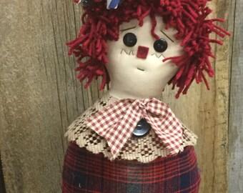 Raggedy Ann Stump Dolls