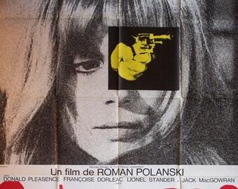 """Movie poster """"Cul-de-sac"""" -Original-"""