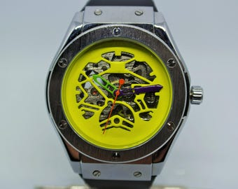 Custom mechanical men watch
