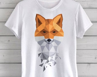 Boy's Geometric Fox T-Shirt