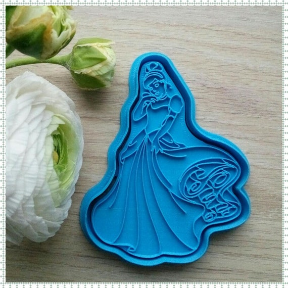 Princess Cutter 3d Printed Cookie Cutters From