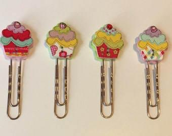 Cheerful Cupcake Page Marker (single) **Introductory Price!!**