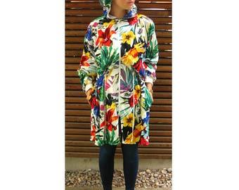 Summer jacket - summer coat - size 38 - coat - cotton - cotton