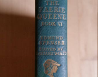 The Faerie Queene Book VI - Edmund Spenser - 1959