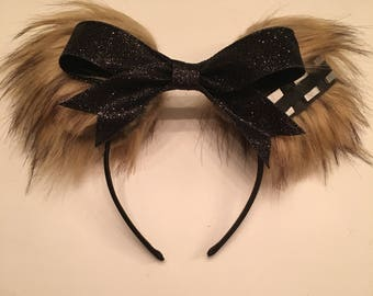 Chewbacca inspired Ears