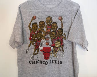 Vintage Early 90s Chicago Bulls T-Shirt