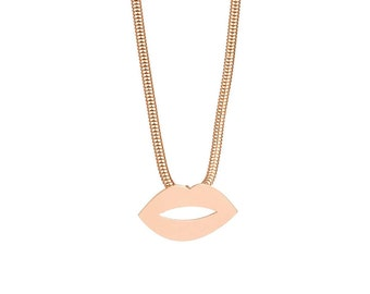 Plump Lips Necklace