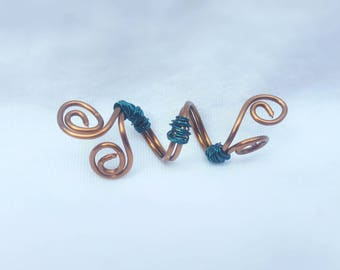 Copper wire for dreads bead