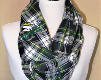 Notre Dame Flannel Infinity Scarf