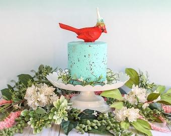 Bird Egg Cake- Fake cake, prop cake, party decor