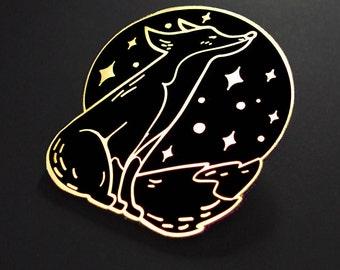 Dreamy Fox - enamel pin