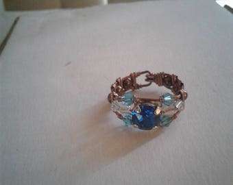 Handcrafted one of a kind ring