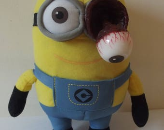 "OOAK Gore Horror Bear Minion ""Sight For Sore Eye"""