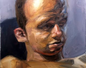 Portrait Study: Exaggerated Forehead