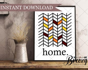 Digital Download, Home, Wall Decor, Printable, Quick and Easy Gift or Room Accent