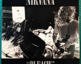 Nirvana Bleach Vinyl LP 2000 Repress (VG+)