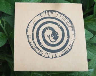 Snake Medicine Greeting Card 5 pack